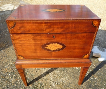 Antique work box